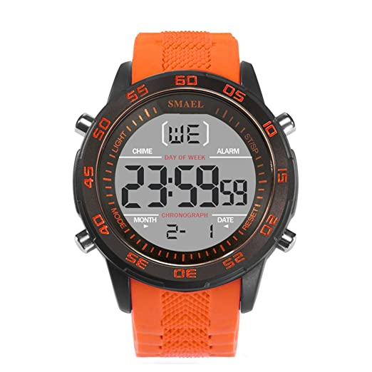 0a7c0ced7 Best Digital Watches Silicone Watches for for Men Women Modern Watches  Orange