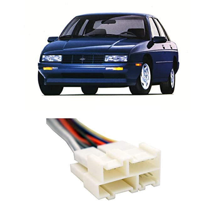Amazon.com: Fits Chevy Corsica 1988-1996 Factory Stereo to Aftermarket Radio Harness Adapter: Car Electronics