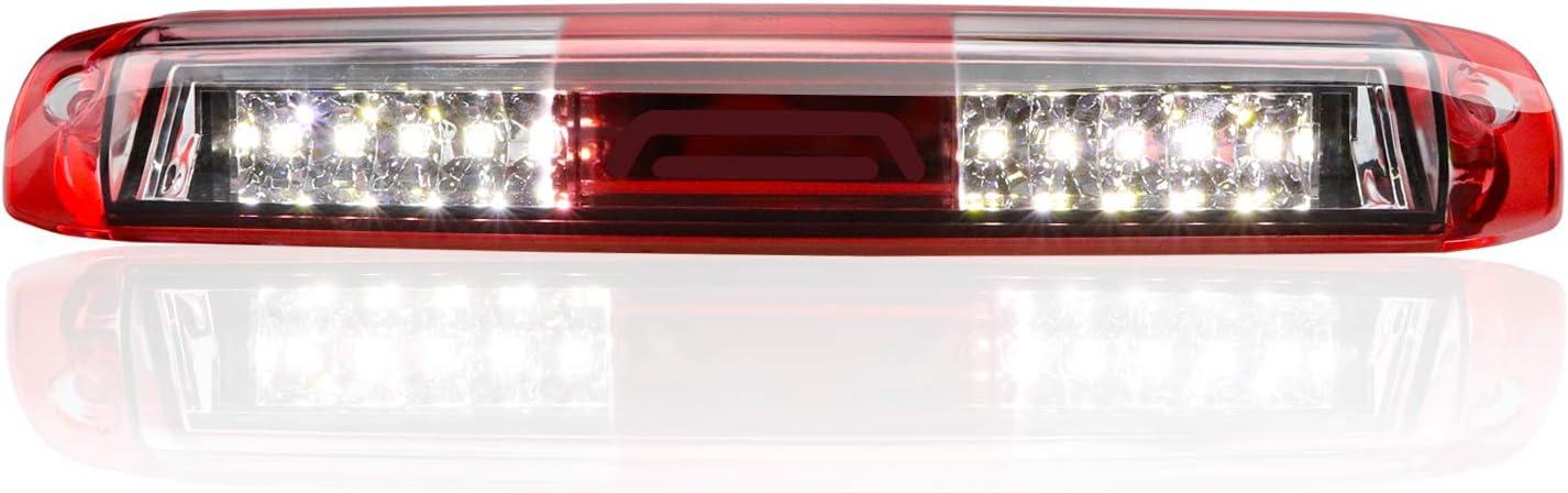 Youxmoto LED 3rd Brake Light Rear Tail Cargo Lamp fit 99-06 Chevrolet Silverado//GMC Sierra 1500//2500// 3500 01-06 Chevrolet Silverado//GMC Sierra 1500//2500// 3500 HD Red Lens