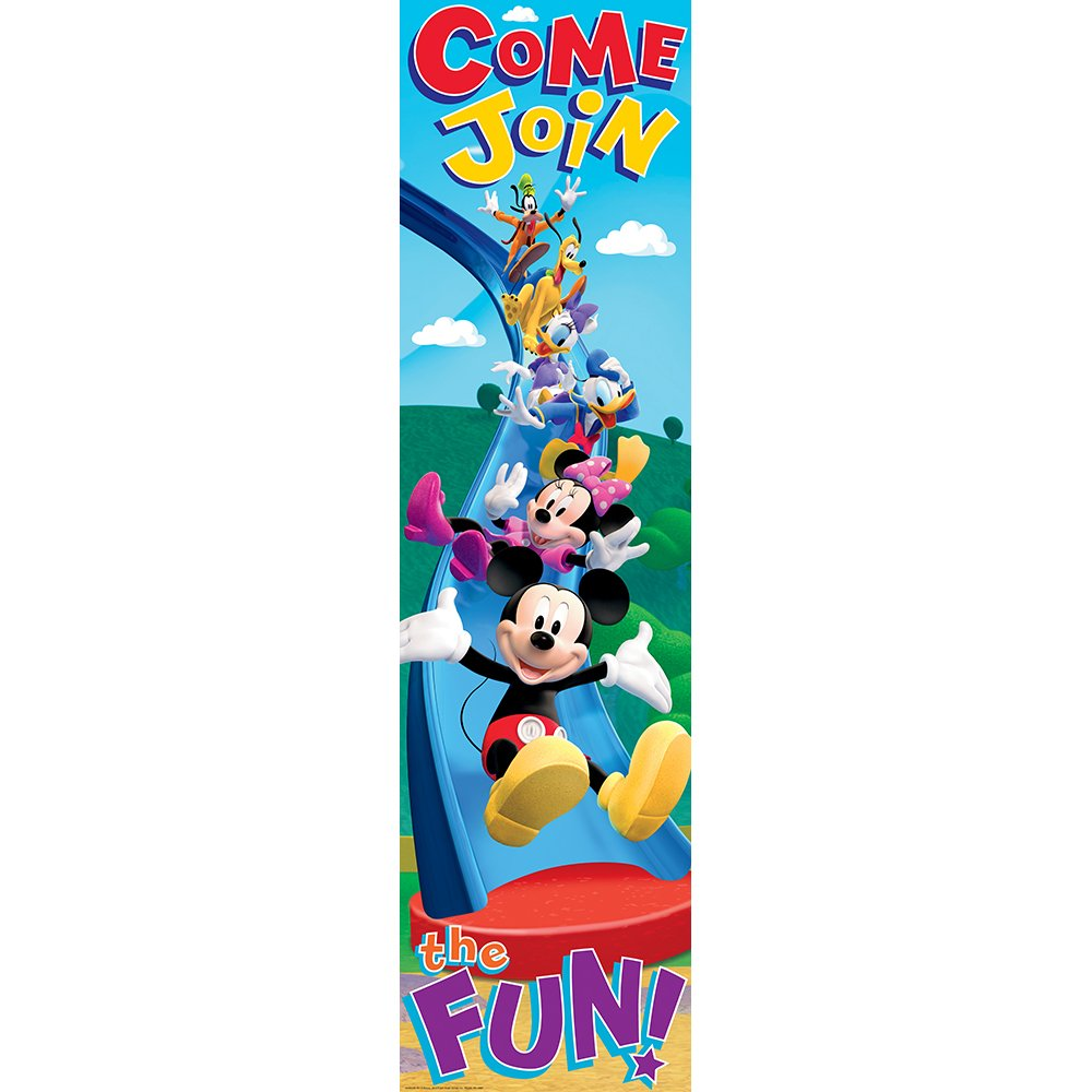 Eureka Mickey Mouse Clubhouse Come Join The Fun! Vertical Banner