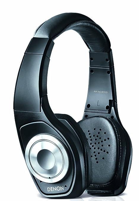 Denon AH-NCW500 - Auriculares de diadema cerrados inalámbricos, negro
