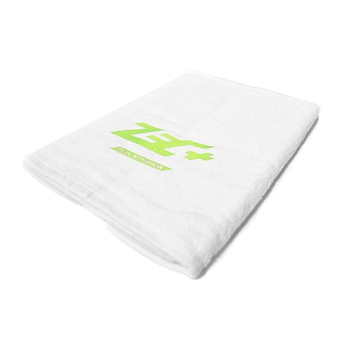 Handtuch TRAININGSHANDTUCH Fitness 100x50cm in Schwarz oder Wei/ß ZEC