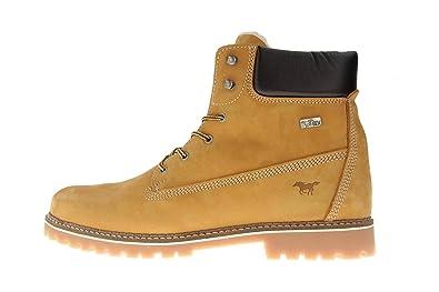 9778b3024d7aed Mustang Shoes Boots in Übergrößen Camel 4875-605-66 große Herrenschuhe