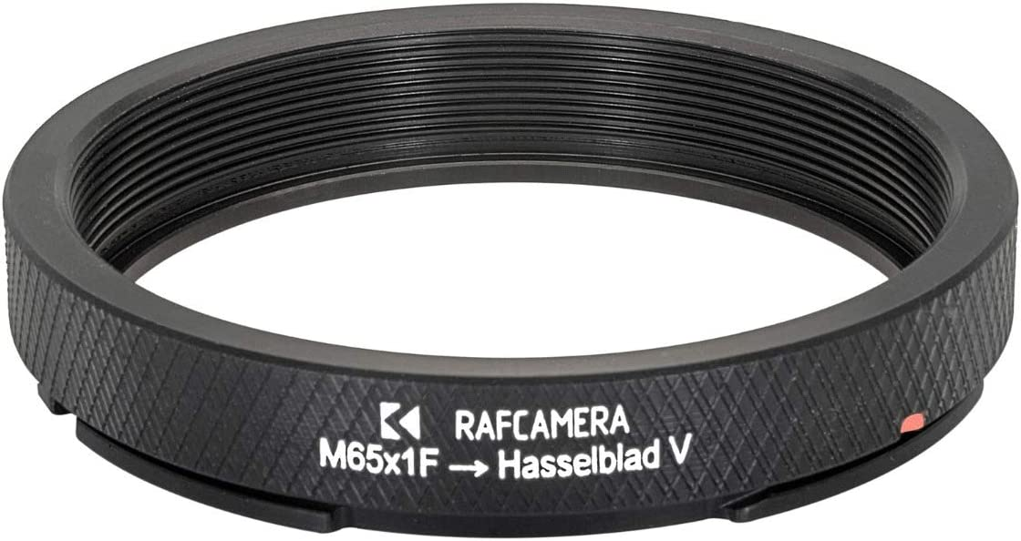M65x1 Female Thread to Hasselblad V Camera Mount Adapter for helicoids