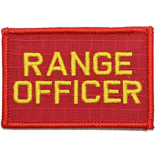 Range Officer - 2x3 Morale Patch - (Red/Yellow)