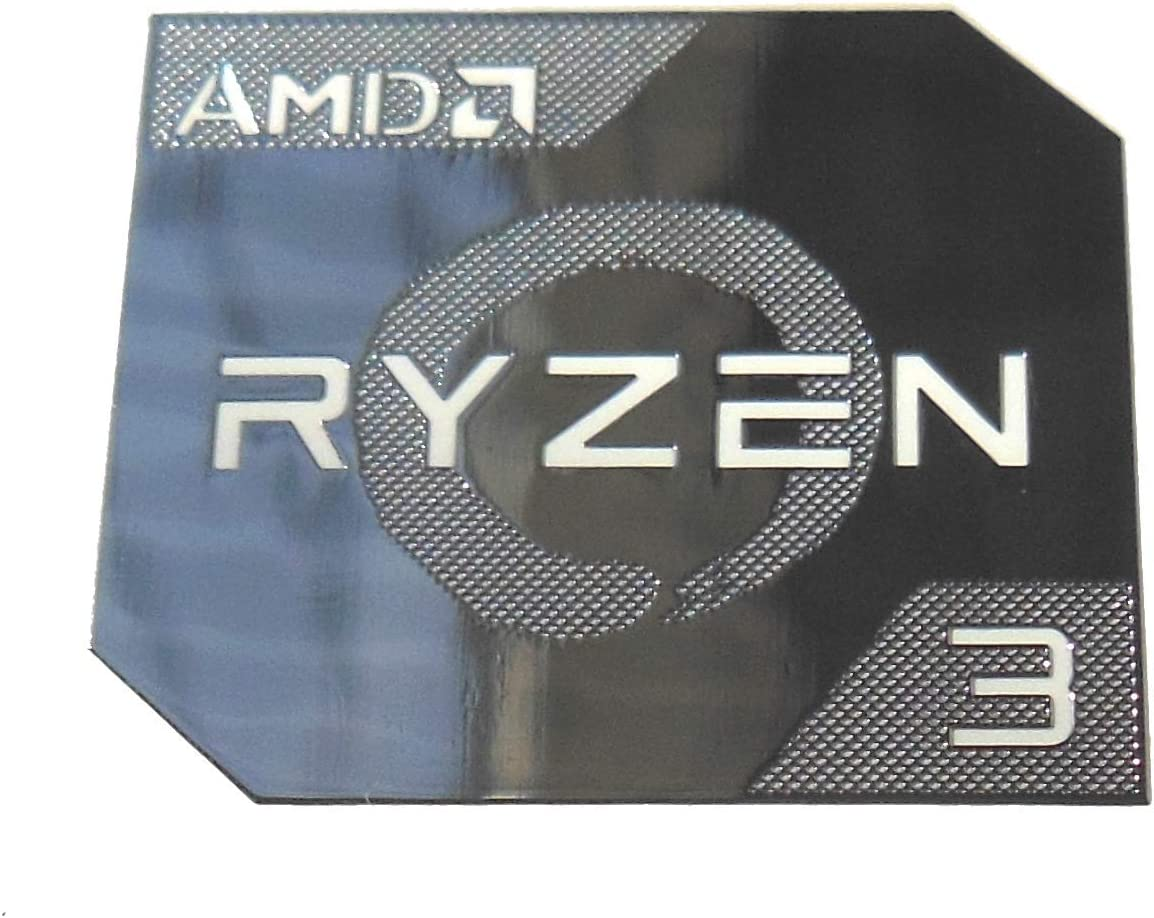 989 11//16 x 13//16 VATH Made Compatible AMD RYZEN 5 Metal Sticker 18 x 20mm