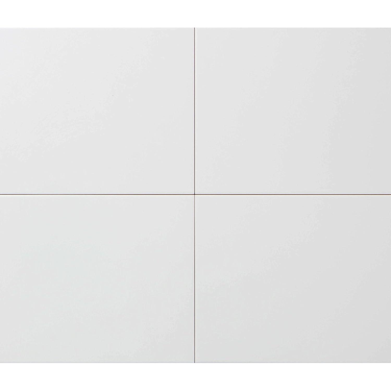 Hammer Hart Wandfliese 25x40 cm Musterfliese 1 St/ück Fliese wei/ß matt mit Wisch-Optik