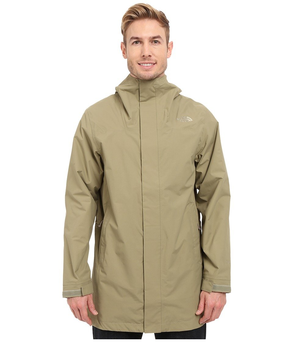 b2049195d THE NORTH FACE Men's El Misti Trench Coat, Mountain Moss, SM: Amazon ...