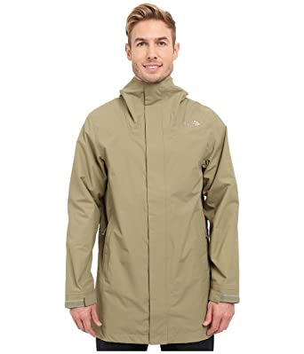 abdbc55f9 THE NORTH FACE Mens EL MISTI Trench Coat, Mountain Moss (Large ...