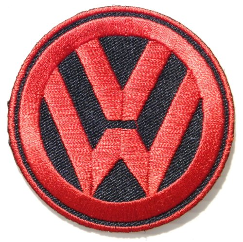 VW Volkswagen Beetle Bug Golf GTI Logo Sign Sport Car Van Bus Patch Sew Iron on Applique Embroidered T shirt Jacket Custom Gift BY SURAPAN