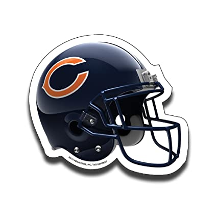 NFL Chicago Bears Football Helmet Design Mouse Pad