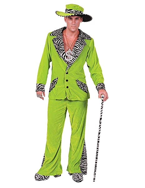 Amazon.com: Orion Costumes Mens Retro 70s Verde Pimp ...