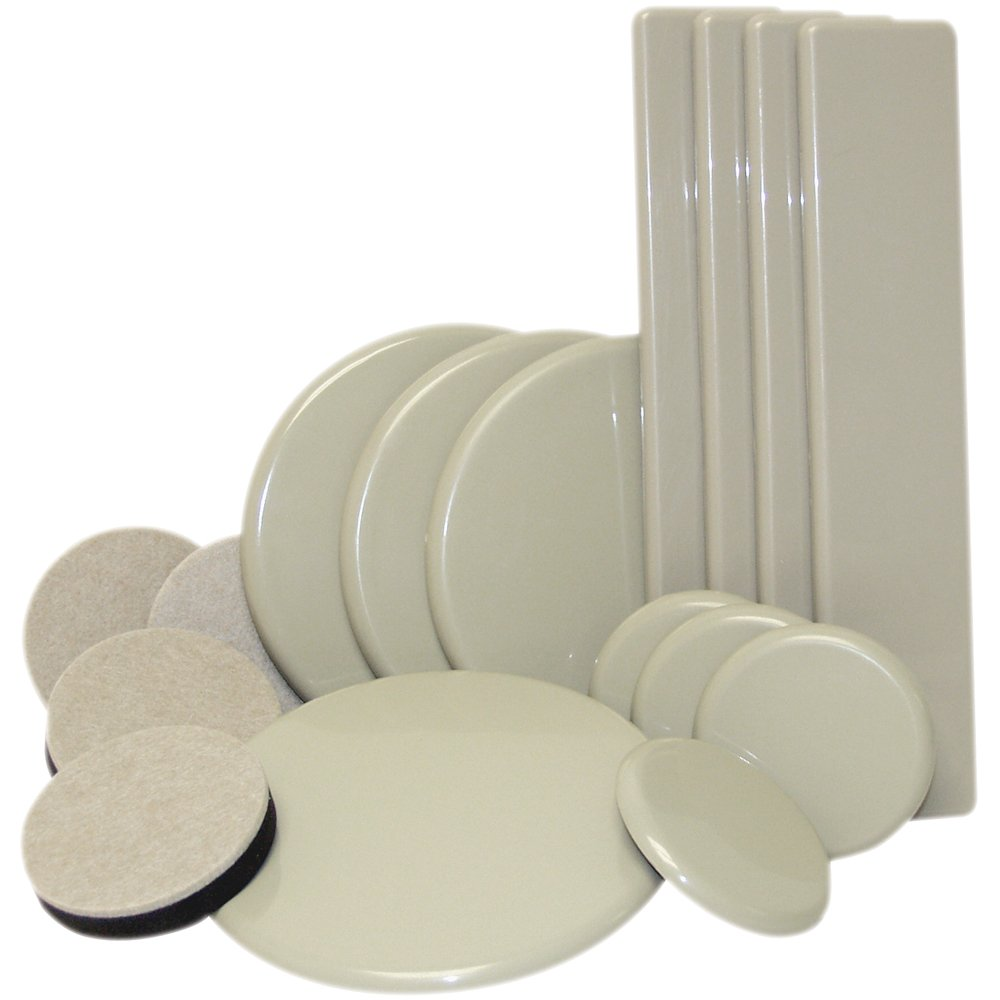 Reusable Furniture Moving Kit For All Floor Types   Move Heavy Furniture  Quickly And Easily Across Carpeted And Hard Floor Surfaces With Furniture  Sliders ...