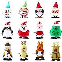 STOBOK Juguetes de Cuerda navideños Juguetes saltarines Lindos