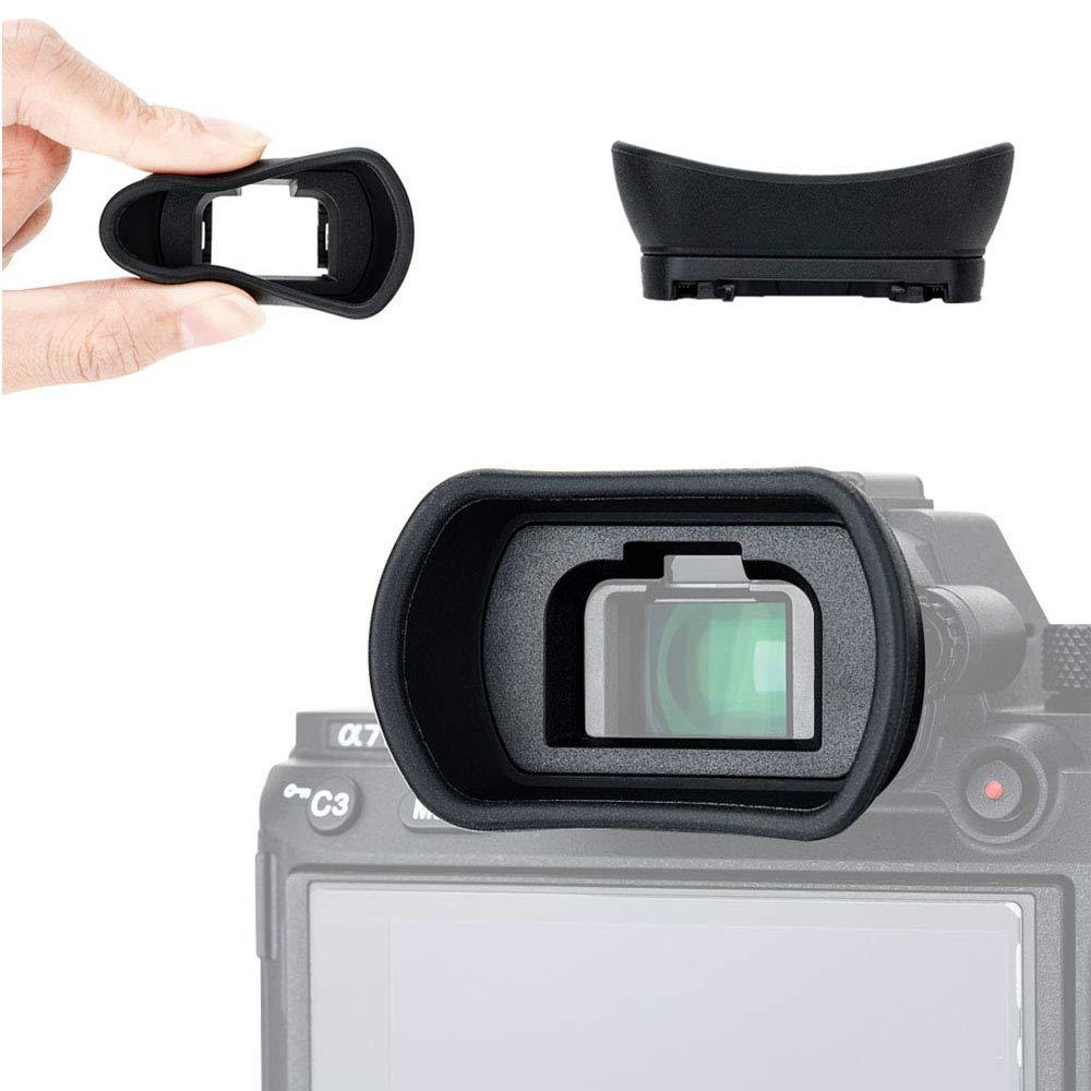 Eyecup Eyepiece Eyeshade Viewfinder for Sony a7 II III a7R II III a7S II a9 a58 a99 II Replaces Sony FDA-EP18 FDA-EP16 FDA-EP15 Eye Cup by JJC