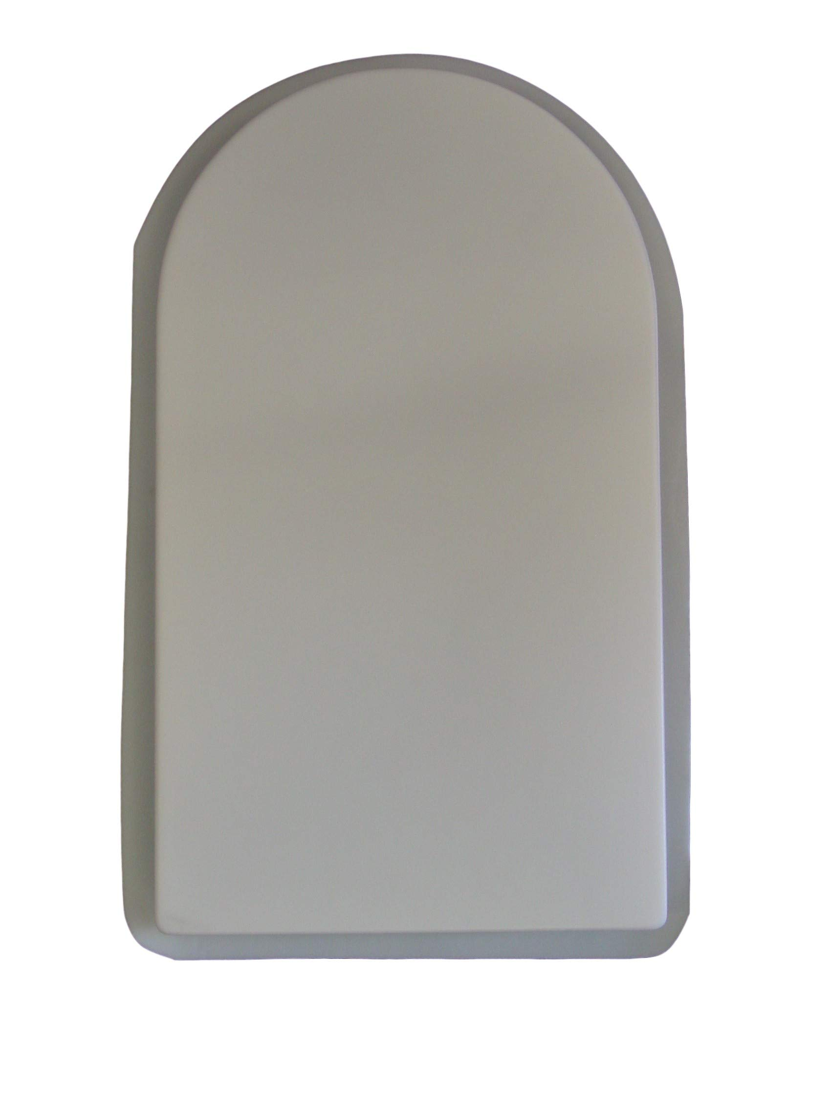 Smooth Plain Tombstone Concrete Plaster Mold 8006