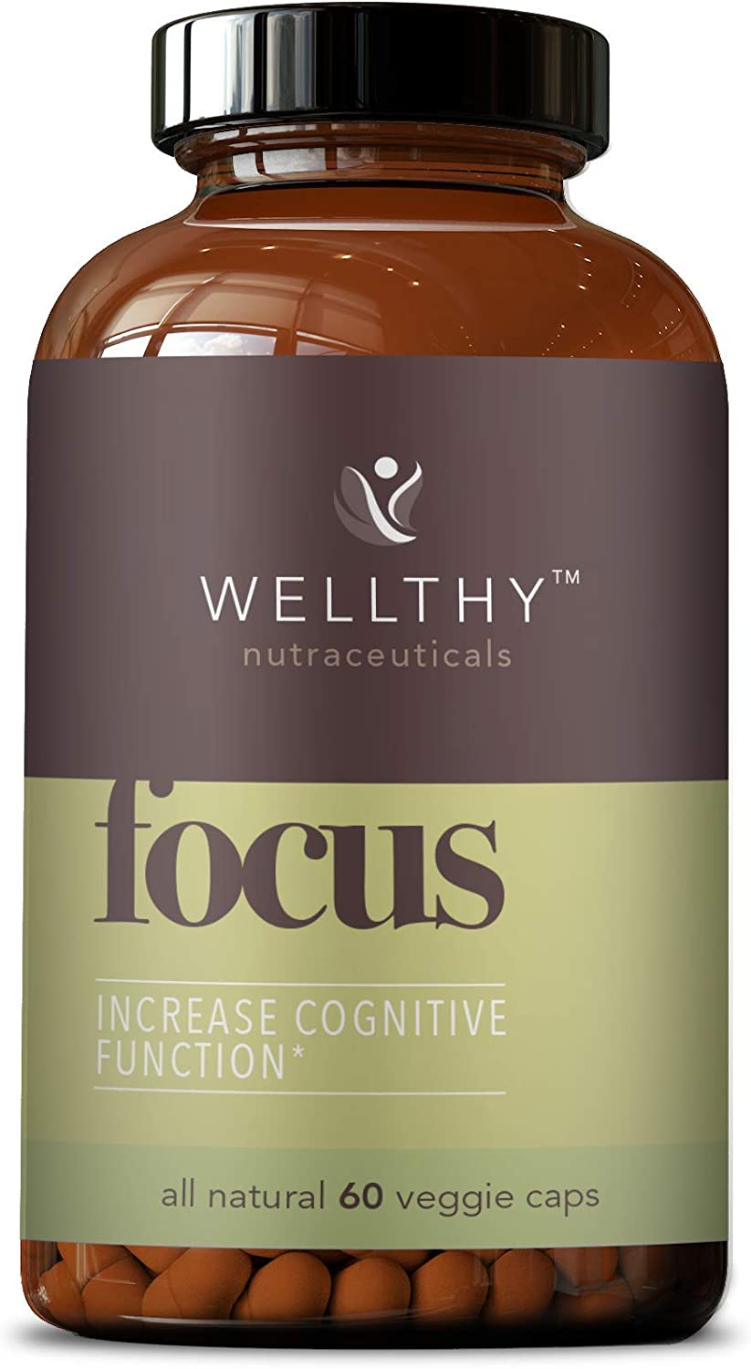 Wellthy Focus Cognitive Function Support 60 Capsules