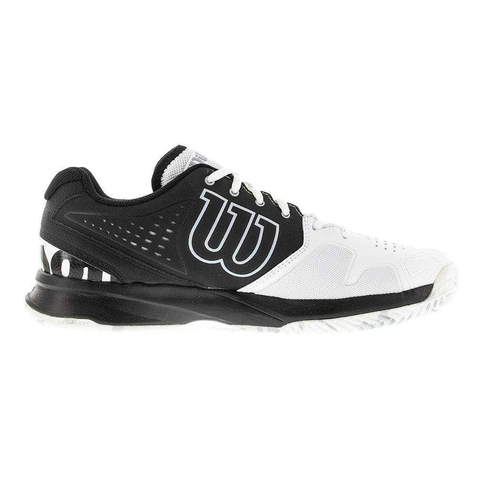 Men`S Kaos Comp Tennis Shoes Black And White, Sports & Outdoors - Amazon  Canada