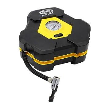 Kongqiabona portátil neumático inflador Bomba Auto compresor de Aire eléctrico 12V 120W con Encendedor de Cigarrillos Enchufe para neumático de Coche de ...