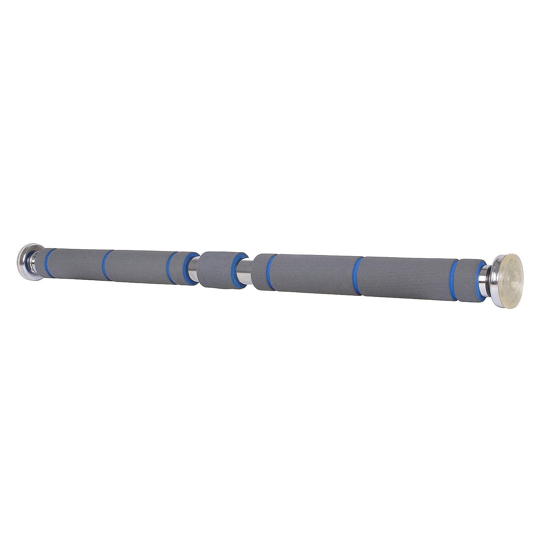 SPRINGOS Acero, 80-130 cm Barra de dominadas