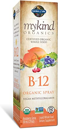 Garden of Life B12 Vitamin Liquid Supplement
