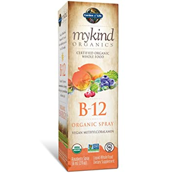 Amazoncom Garden Of Life B12 Vitamin Mykind Organic Whole Food B