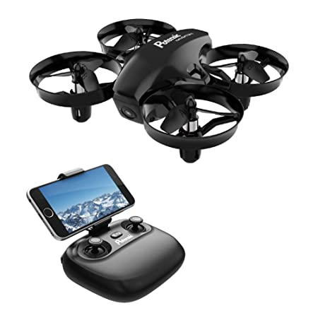 Potensic Mini Drohne mit kamera RC Quadrocopter Drohne 2.4Ghz FPV Live Übertragung Ferngesteuerte Drohne Spielzeug Drohne für