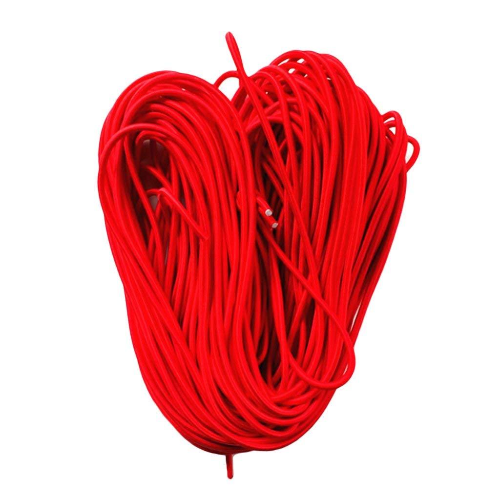 nouler Juler 5Mm 1M-75M Durable Elastic Rubber Band Rope Shock Rope Elastic Band Binding Boat DIY Handmade Elastic Rope,75m by nouler