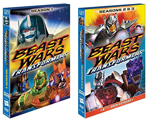 Beast Wars: Transformers - The Complete Collection Seasons 1 & 2 Series Set