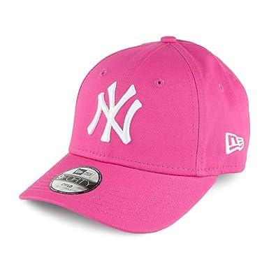 3292371df4bd Casquette Enfant 9FORTY MLB New York Yankees rose NEW ERA - Jeune Ajustable