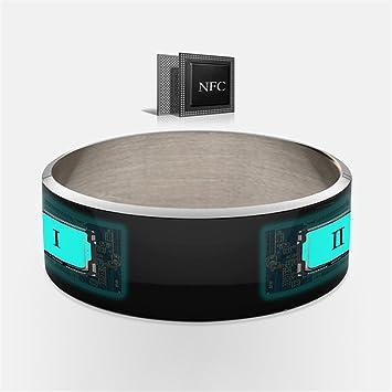 PINCHU R3F Dispositivos Portátiles NFC Smart Ring Anillos Blanco Negro Desgaste para Samsung HTC Sony LG para iOS Android Ventana Teléfono NFC: Amazon.es: ...