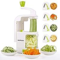 Deals on Sedhoom 4-blade Vegetable Spiralizer