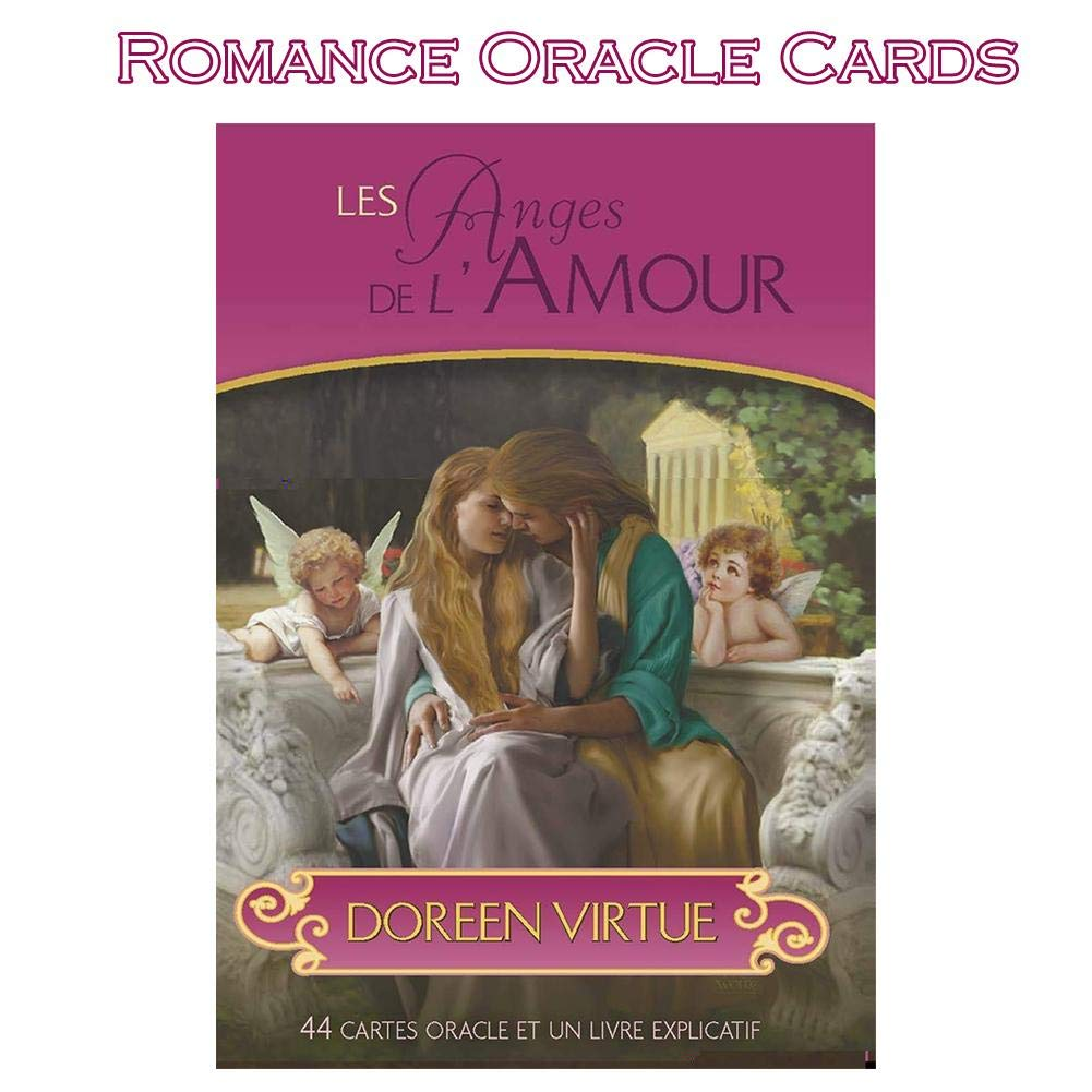 heling896 Les Cartes Oracle Romance - Un Jeu de Cartes 44 par Doreen Virtue PhD Rare Out of Print