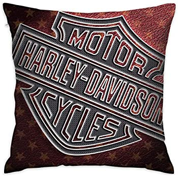 "14/"" X 12/"" X 2 1//2/"" Harley-Davidson Fireball Vinyl Pillow Size"