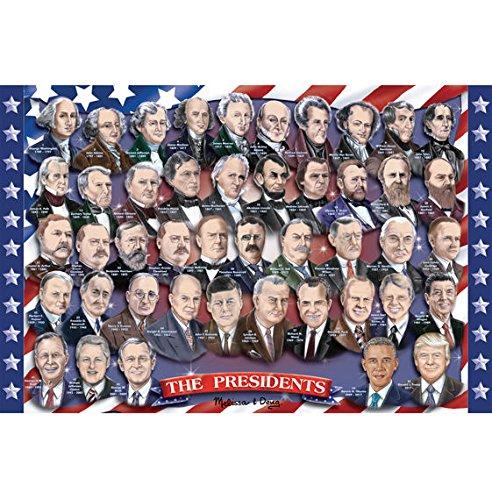 Presidents of the U.S.A. Floor (100 pc) by Melissa & Doug