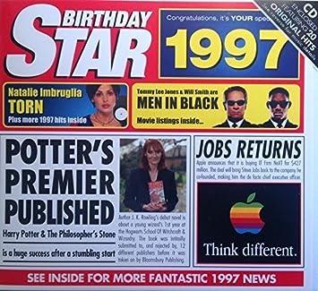 1997 Birthday Gifts
