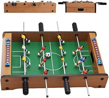 HONGHUIYU Mesa de futbolín de Mesa, Mini Sports Arcade Soccer para ...