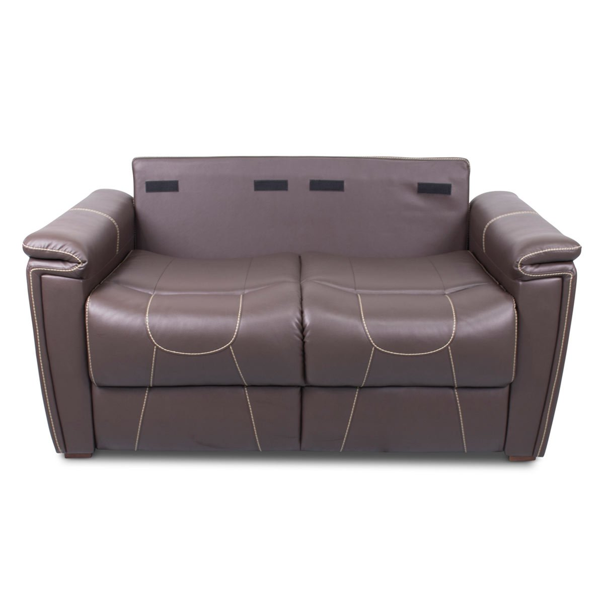 Amazon Com Thomas Payne 377708 Majestic Chocolate 68 Trifold Sofa