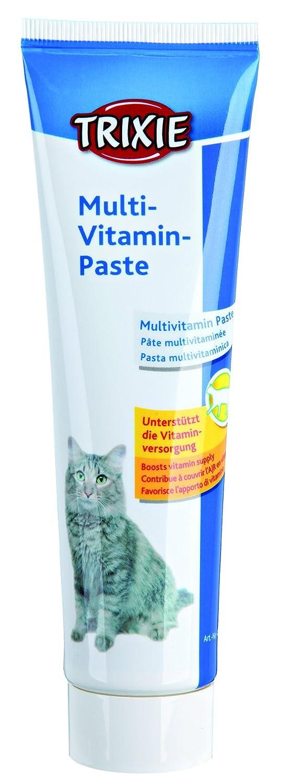 Trixie Multivitaminas en Pasta para Gatos, 100 g: Amazon.es: Productos para mascotas
