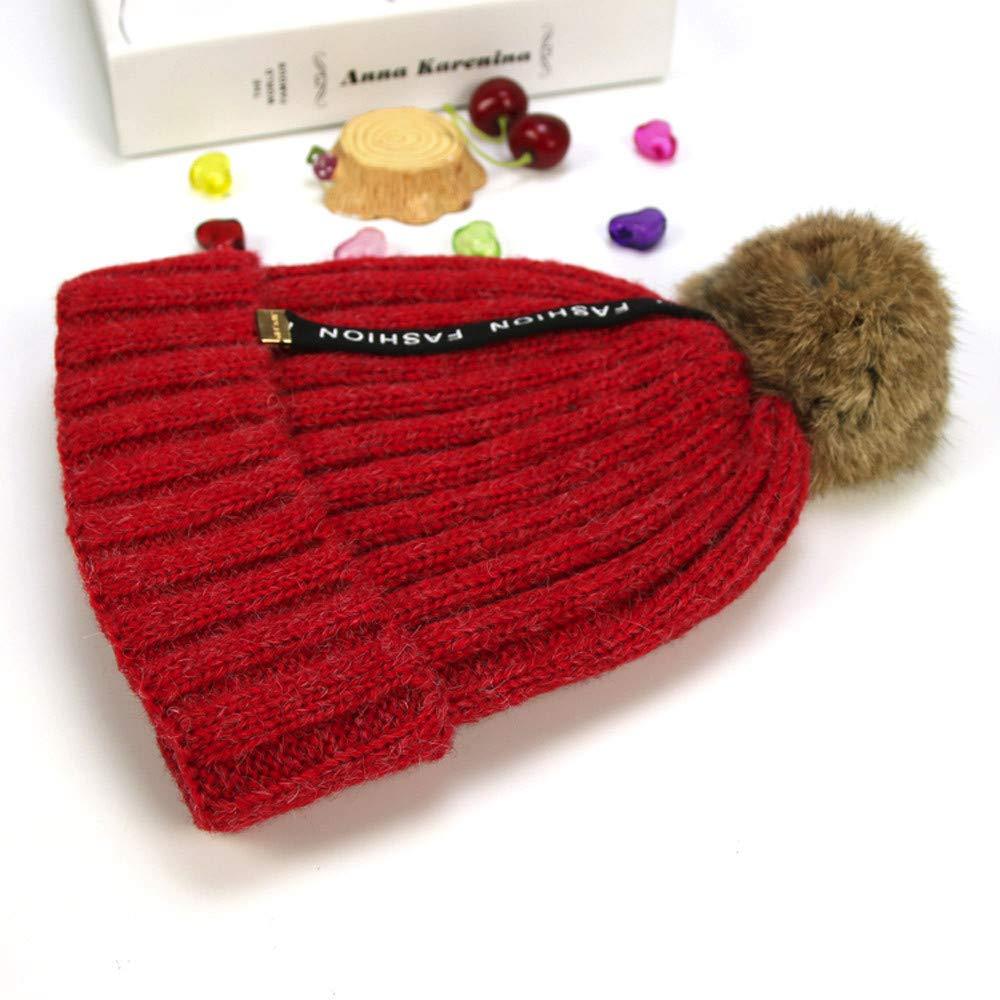 Clearance Sale Cute Toddler Kids Girl& Boy Baby Infant Winter Warm Crochet Knit Hat Beanie Cap Bovake