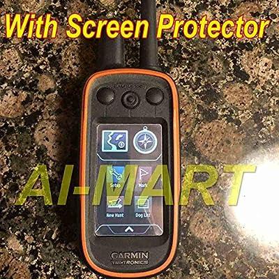 [3-Pcs] Screen Protector for Garmin Alpha 100 GPS Clear HD Film with Anti-Fingerprint, Anti-Bubble,Anti-Scratch