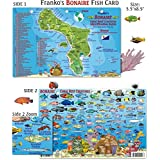Franko Maps Bonaire Reef Creatures Fish ID for Scuba Divers and Snorkelers