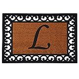 "19"" x 25"" Monogrammed Insert Doormat (LETTER L)"