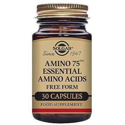 Solgar Amino 75 Aminoácidos - 30 Cápsulas