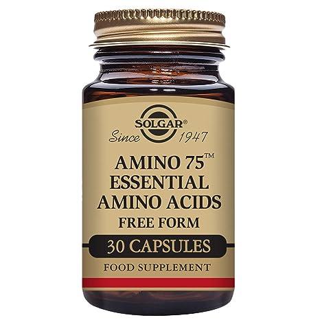 Solgar Amino 75 Aminoácidos esenciales Cápsulas vegetales - Envase de 30