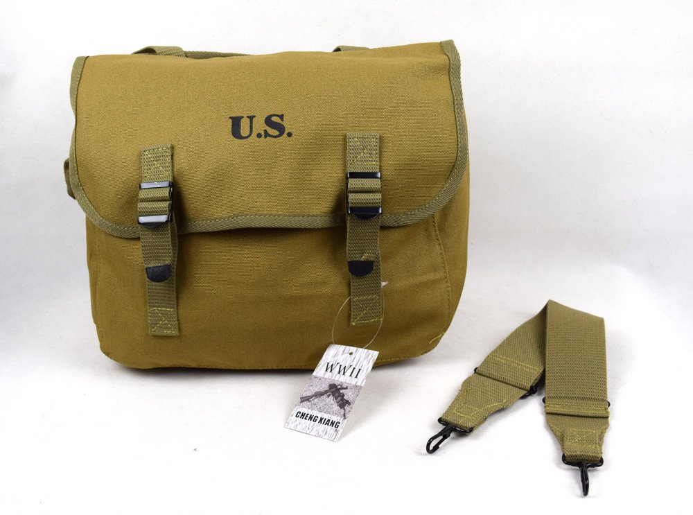 Chengxiang Repro WWII US M1936 M36 Musette Field Bag Back Pack Haversack