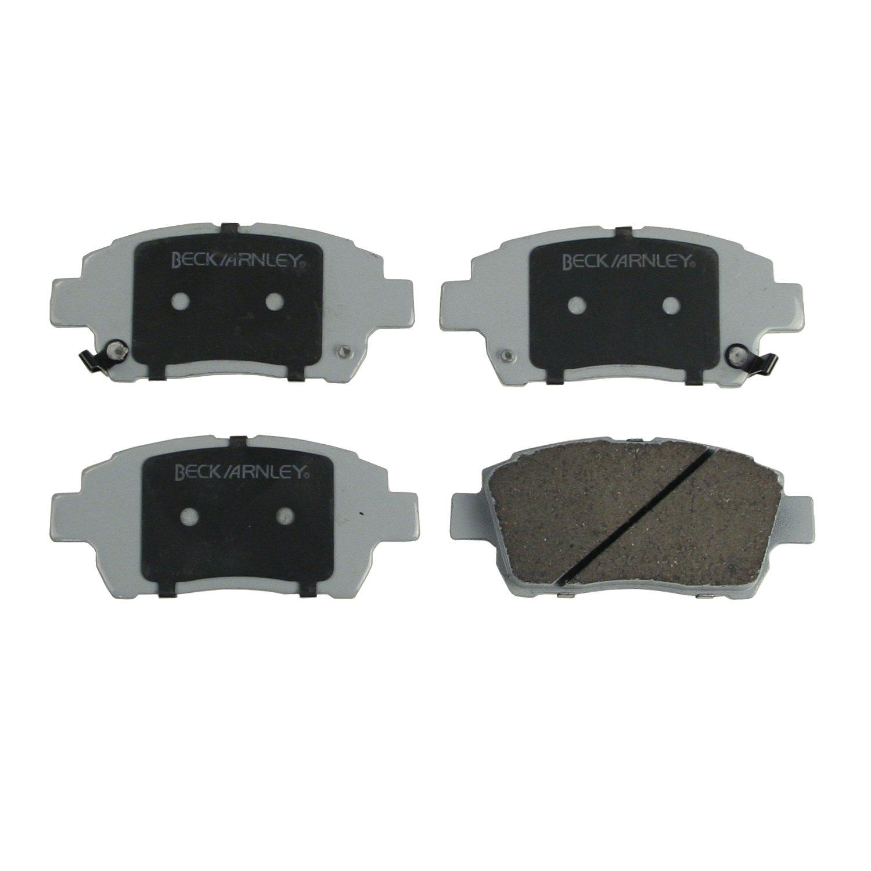Beck Arnley 085-1621 Premium ASM Brake Pad