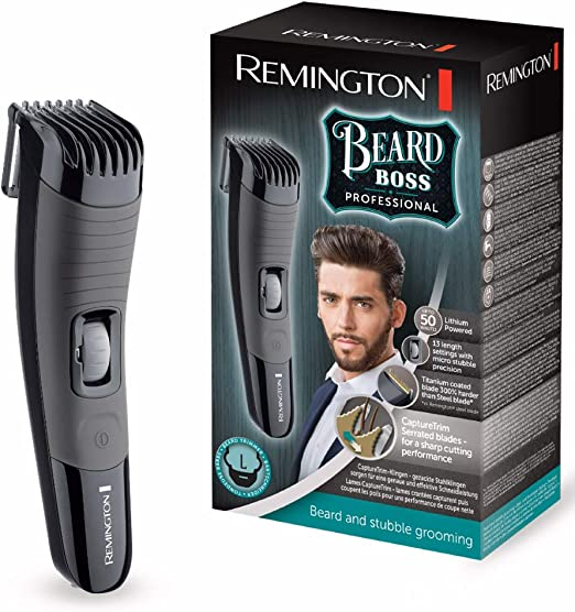 Remington Bear Boss MB4130 Barbero, Cuchillas Titanio, Recargable ...