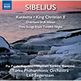 Kuolema - le Roi Christian II - Two Songs from Twelfth Night Op 60 - Ouverture en la mineur, JS144