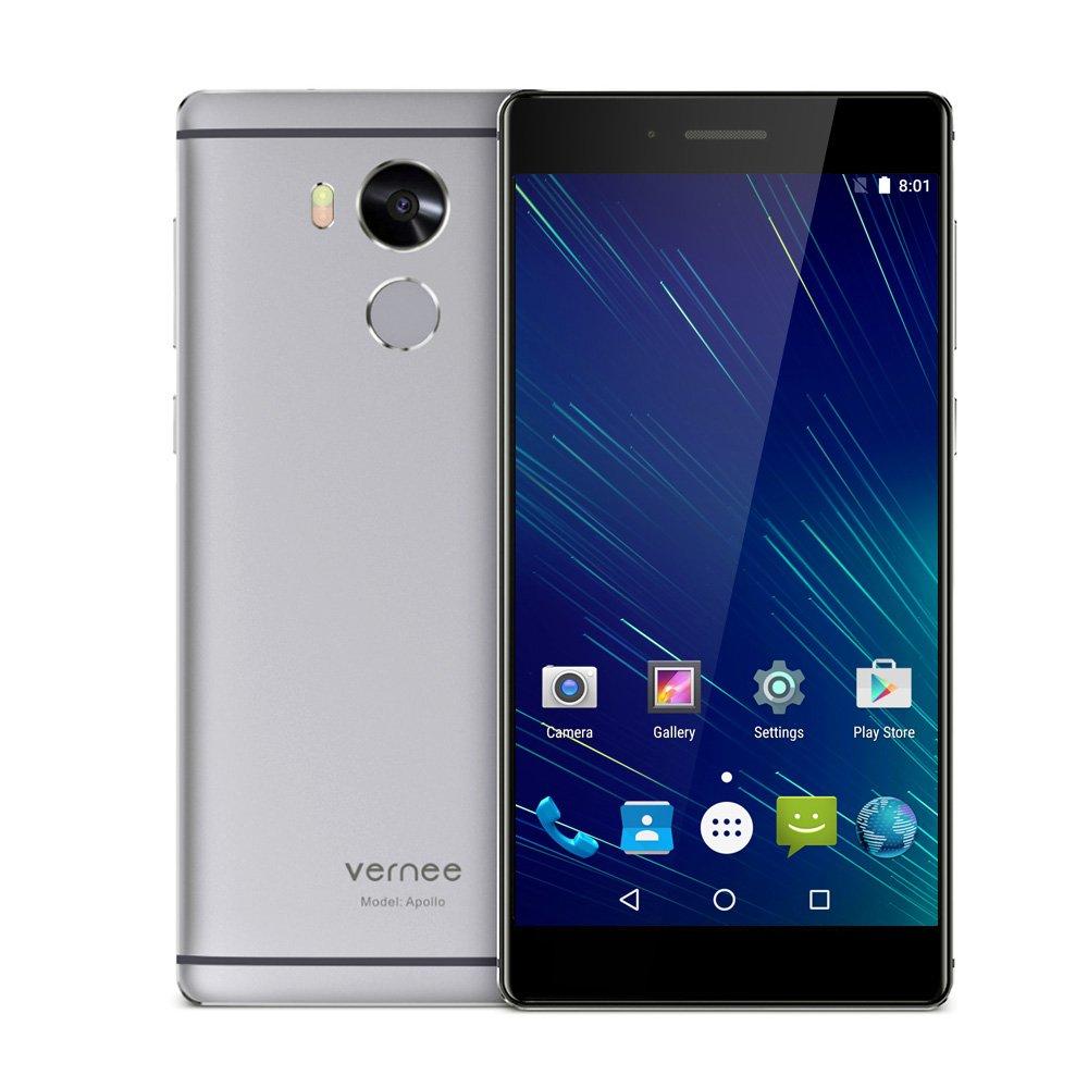 Vernee Apollo Smartphone 4G ohne Vertrag 5.5 Zoll 2K: Amazon.de ...
